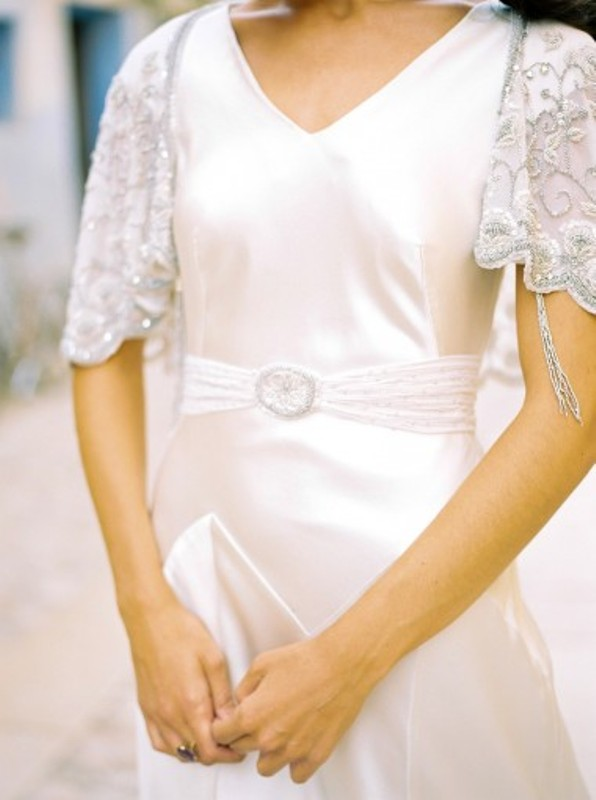 Picture Of sophisticated and feminine luellas 2016 wedding dresses collection  7