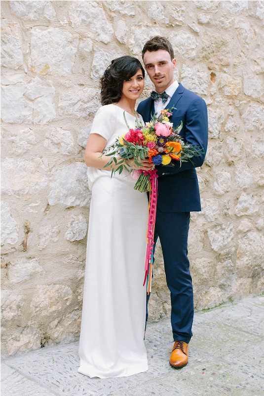 Picture Of south france colorful wedding inspirational shoot  1