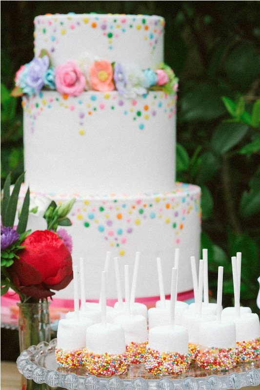 Picture Of south france colorful wedding inspirational shoot  10