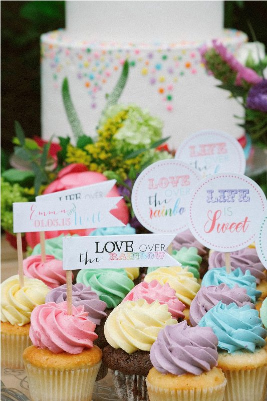 Picture Of south france colorful wedding inspirational shoot  11