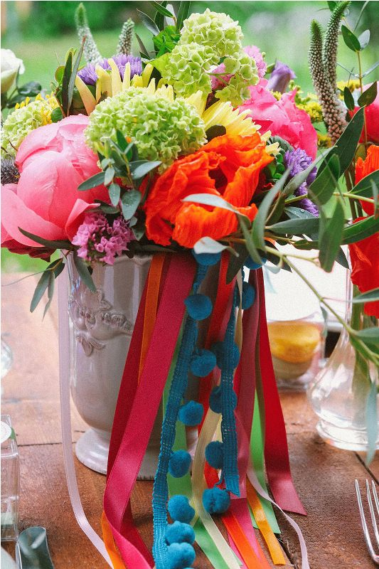 Picture Of south france colorful wedding inspirational shoot  16