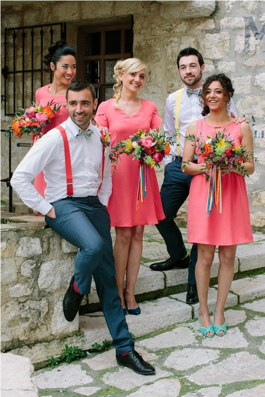 Picture Of south france colorful wedding inspirational shoot  18