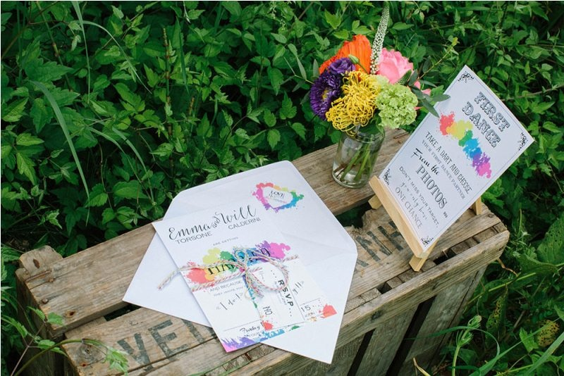 Picture Of south france colorful wedding inspirational shoot  2