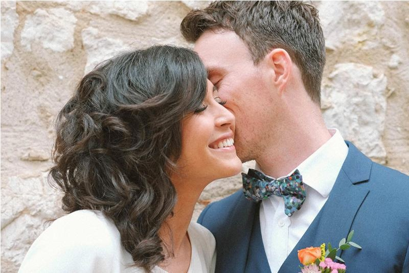 Picture Of south france colorful wedding inspirational shoot  20