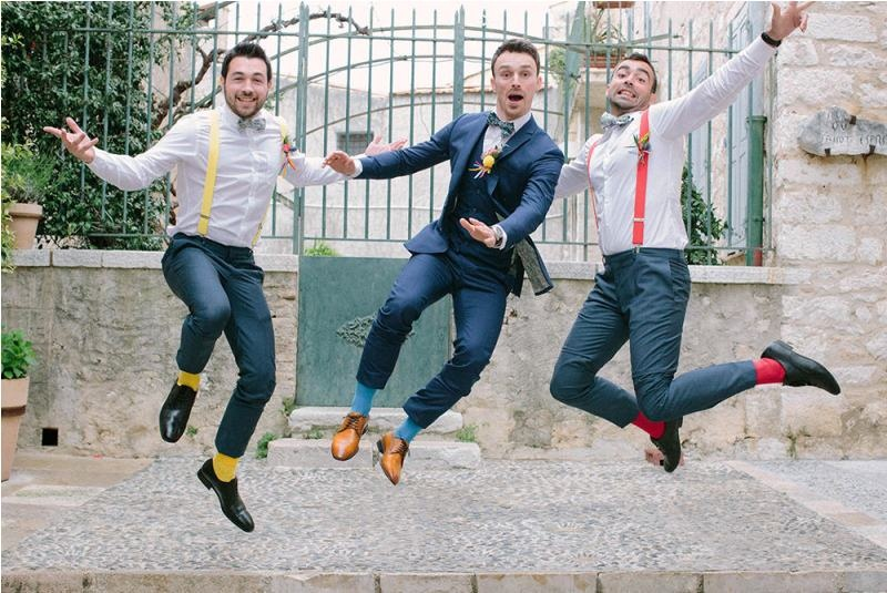 Picture Of south france colorful wedding inspirational shoot  4