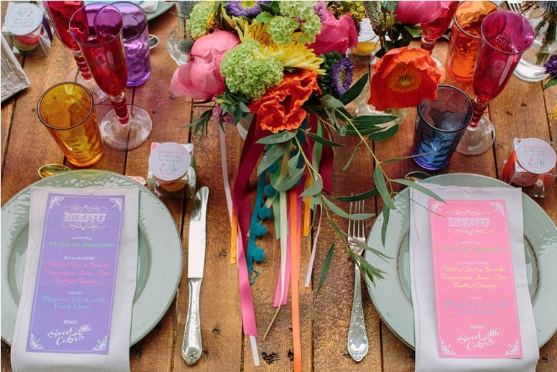 Picture Of south france colorful wedding inspirational shoot  8