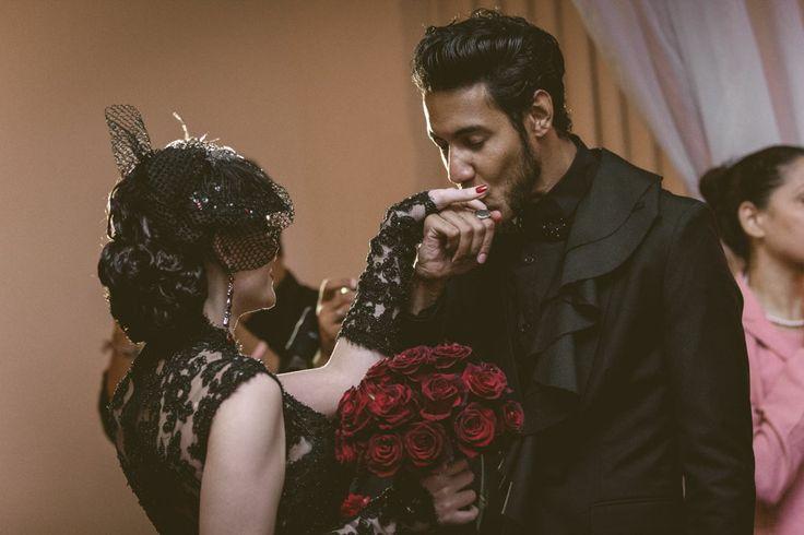 Spanish Rock N Roll Themed Destination Wedding