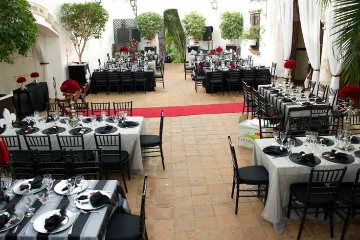 Picture Of Spanish Rock N Roll Themed Destination Wedding