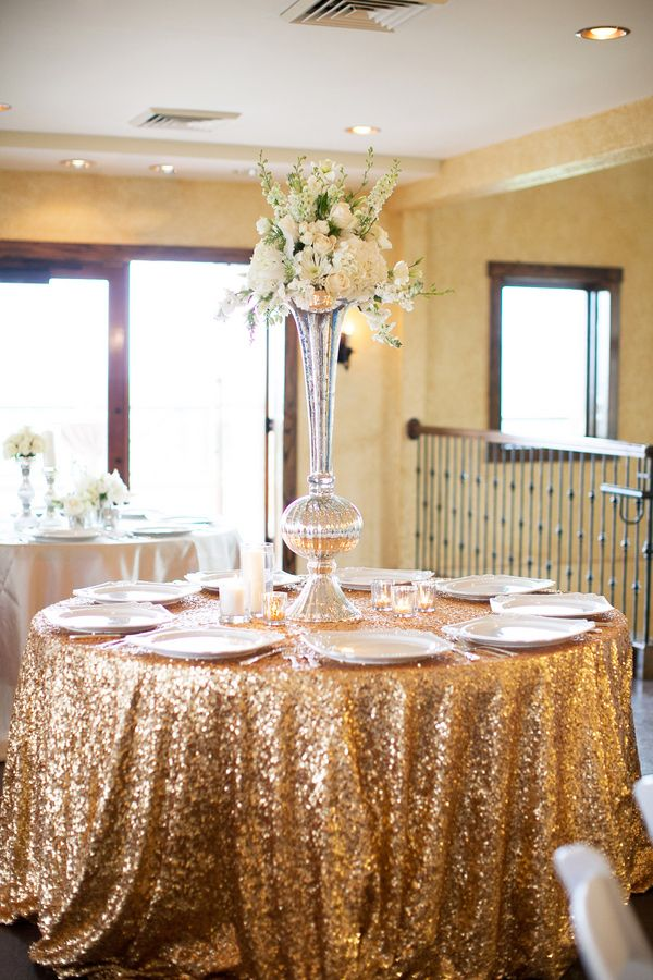 Picture Of Sparkling Gold Wedding Ideas