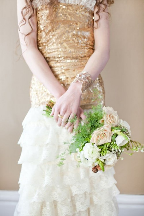 Sparkling Gold Wedding Ideas
