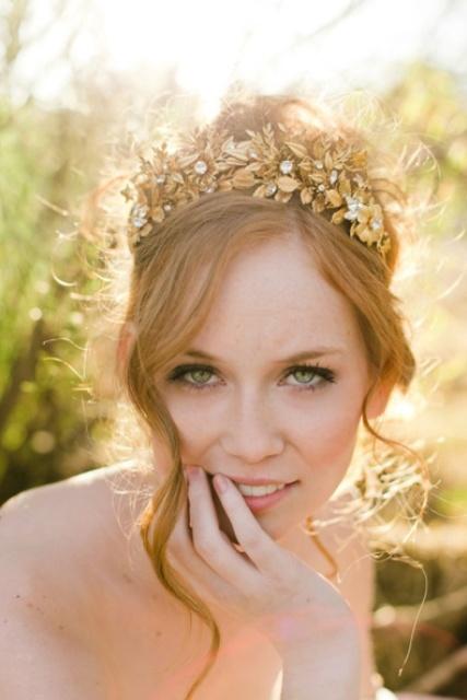 Sparkling Gold Wedding Ideas