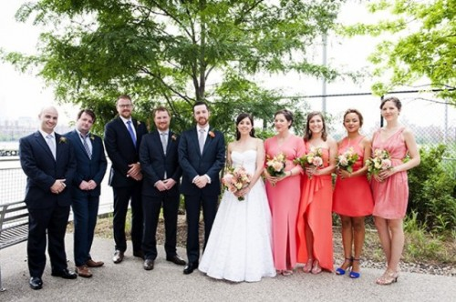 Spring Brooklyn Wedding With Lots Of Greenery