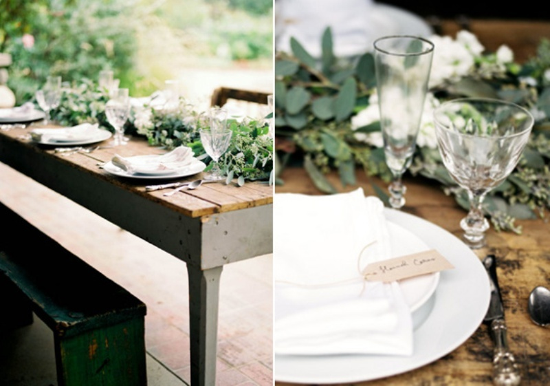 Spring Rustic Garden Wedding Ideas  Weddingomania