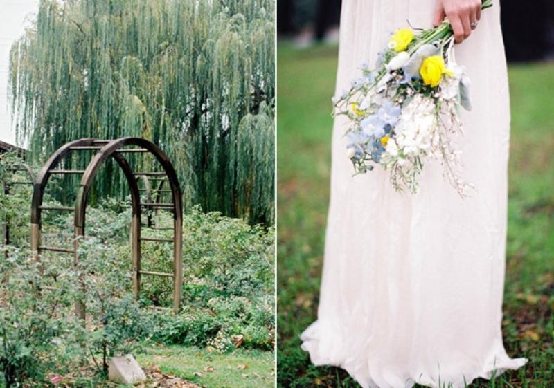 Spring Outdoor Wedding Ideas : Spring rustic garden wedding ideas weddingomania