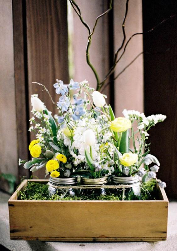 Spring Rustic Garden Wedding
