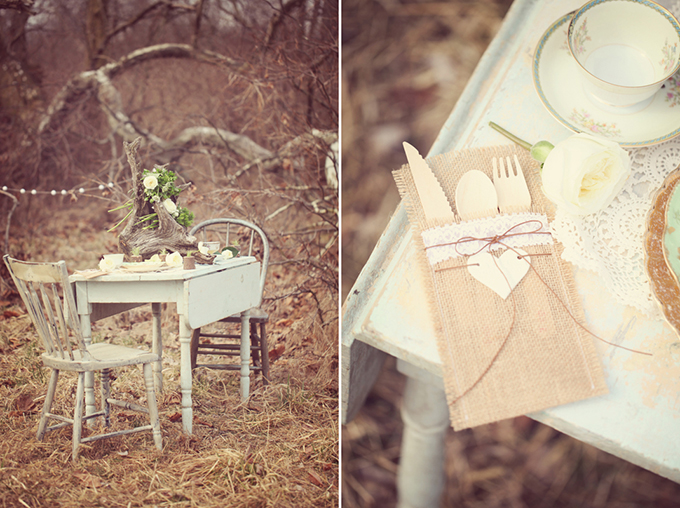 Spring Vintage Bohemian Wedding Shoot