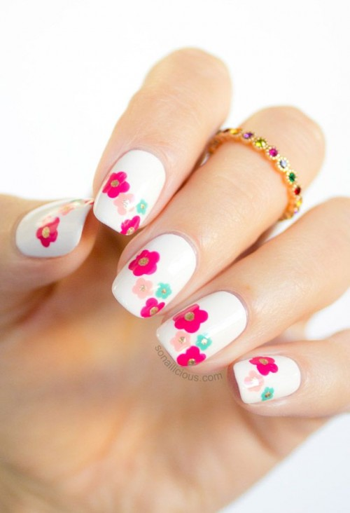 Picture Of spring wedding nails ideas to get inspired  17