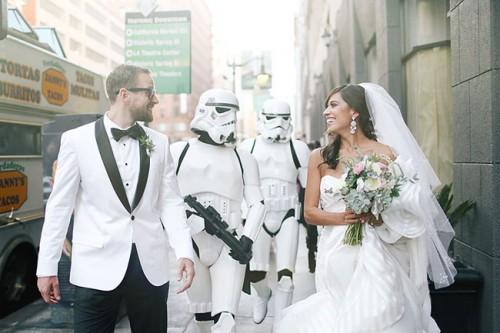 Star Wars Inspired Wedding With An Elegant Sense