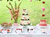 Strawberry Themed Dessert Table For Your Wedding