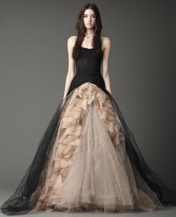 Striking Halloween Wedding Dresses