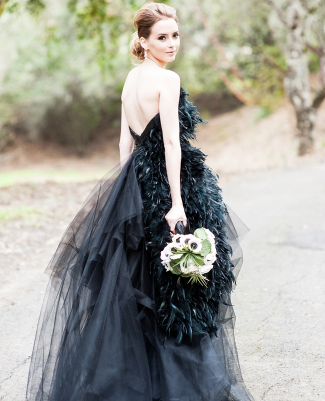 Picture Of Striking Halloween Wedding Dresses