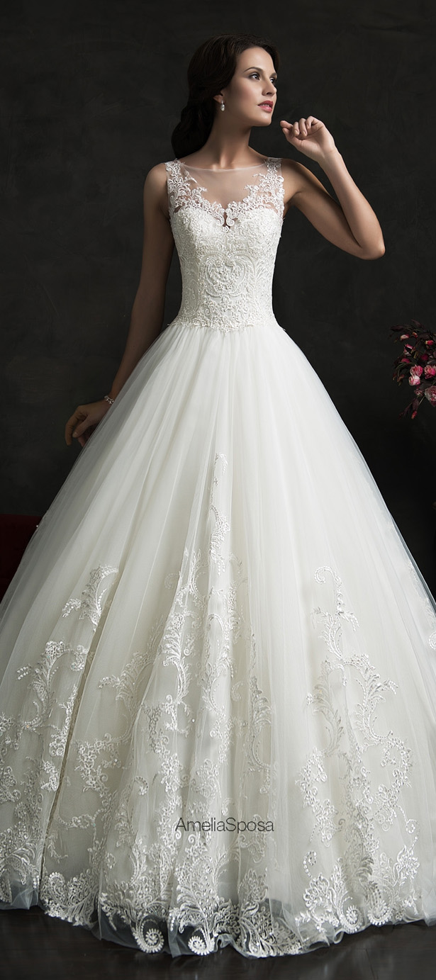 Picture Of stunning amelia sposa 2015 wedding dresses collection  1