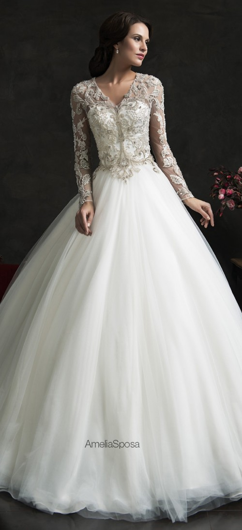 Stunning Amelia Sposa 2015 Wedding Dresses Collection