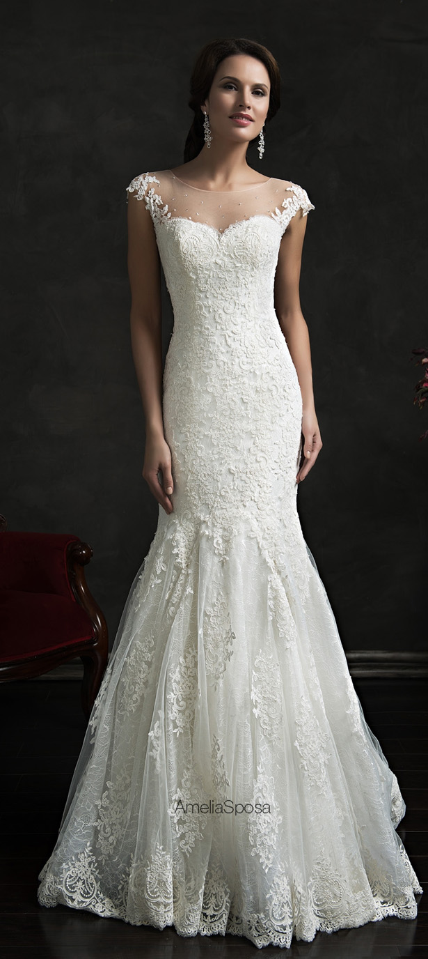 Picture Of stunning amelia sposa 2015 wedding dresses collection  11