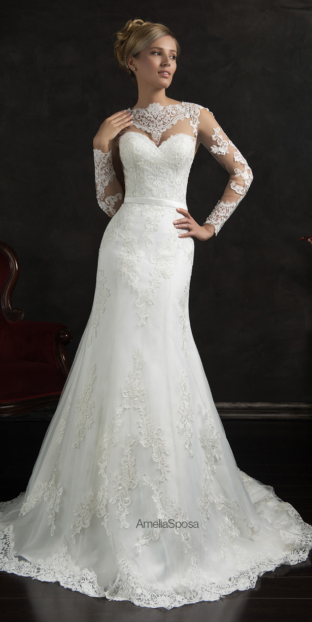Picture Of stunning amelia sposa 2015 wedding dresses collection  14