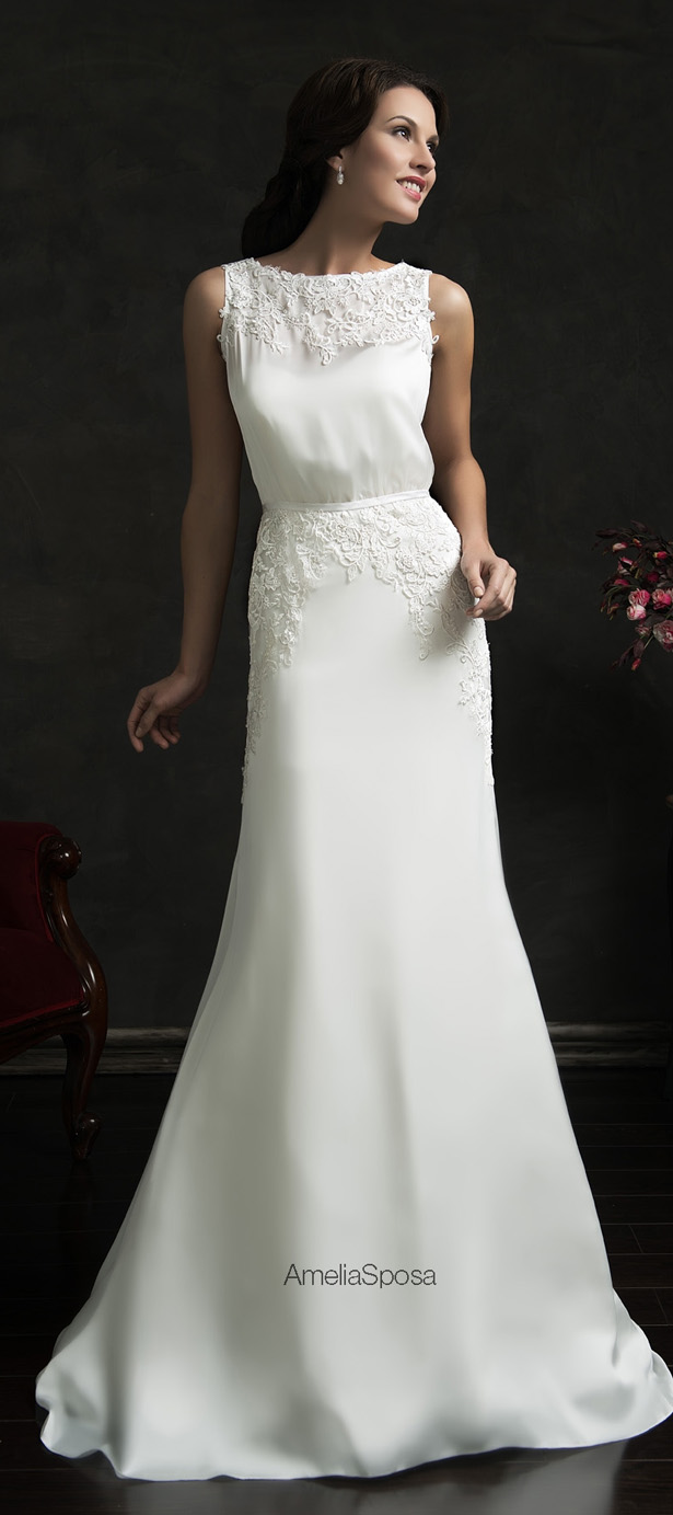 Picture Of stunning amelia sposa 2015 wedding dresses collection  16