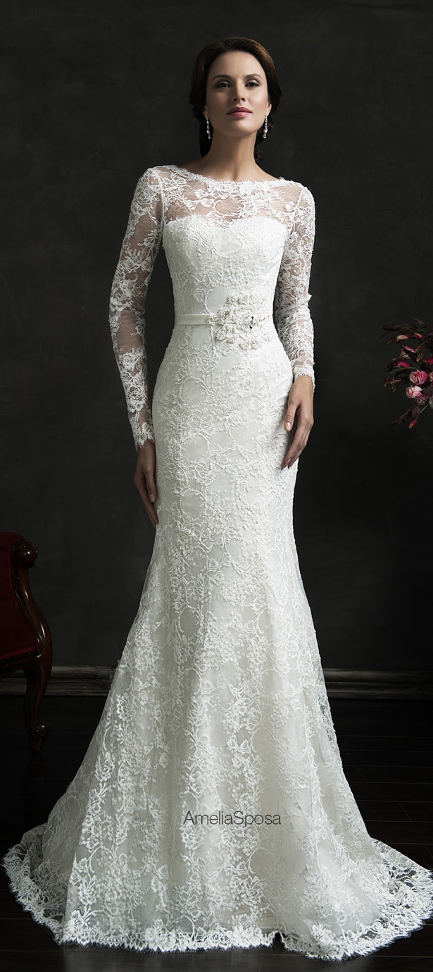 Picture Of stunning amelia sposa 2015 wedding dresses collection  19