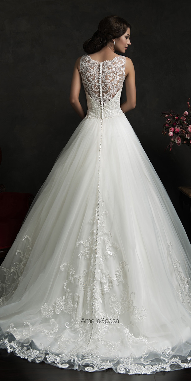 Picture Of stunning amelia sposa 2015 wedding dresses collection  2