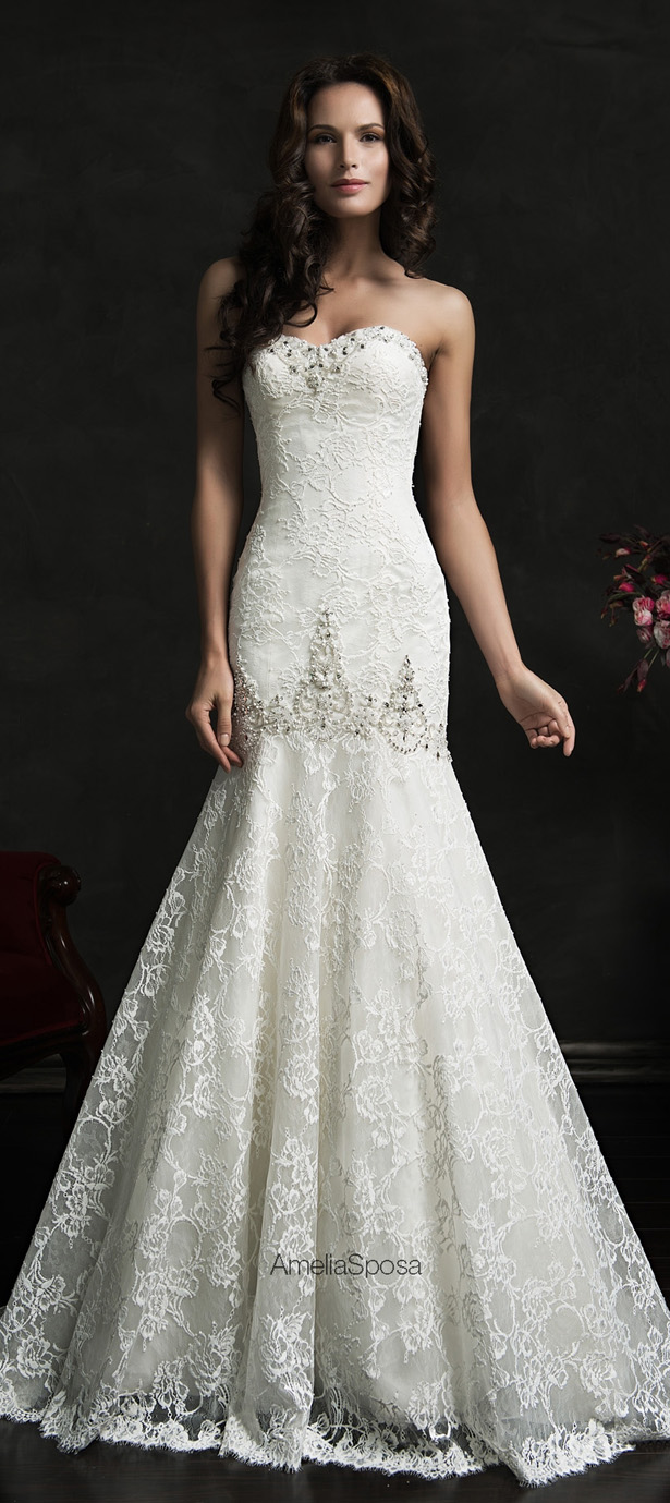 Picture Of stunning amelia sposa 2015 wedding dresses collection  20