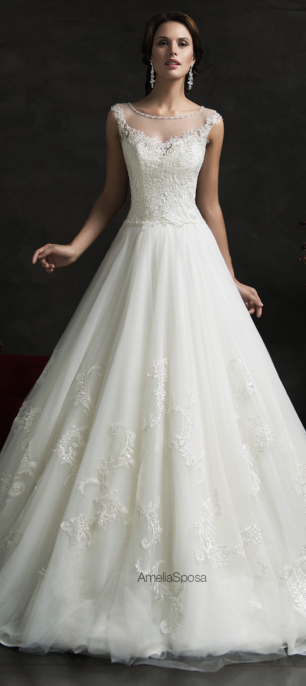 Picture Of stunning amelia sposa 2015 wedding dresses collection  22