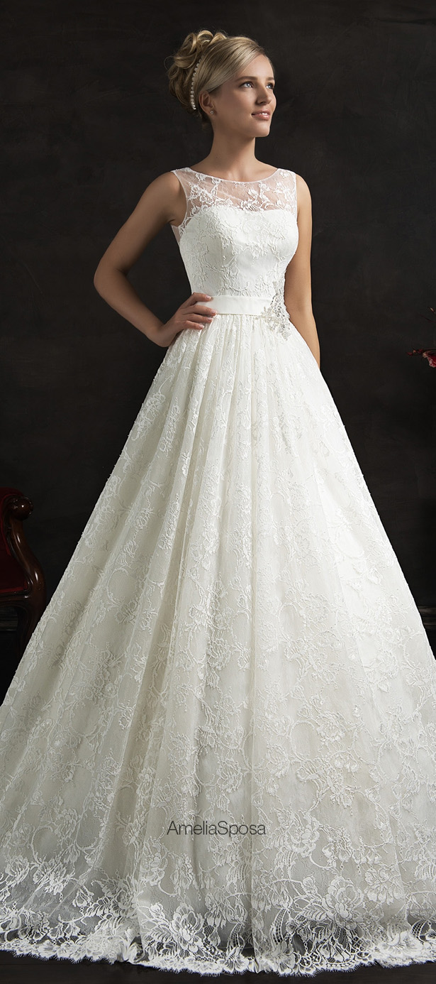 Picture Of stunning amelia sposa 2015 wedding dresses collection  23