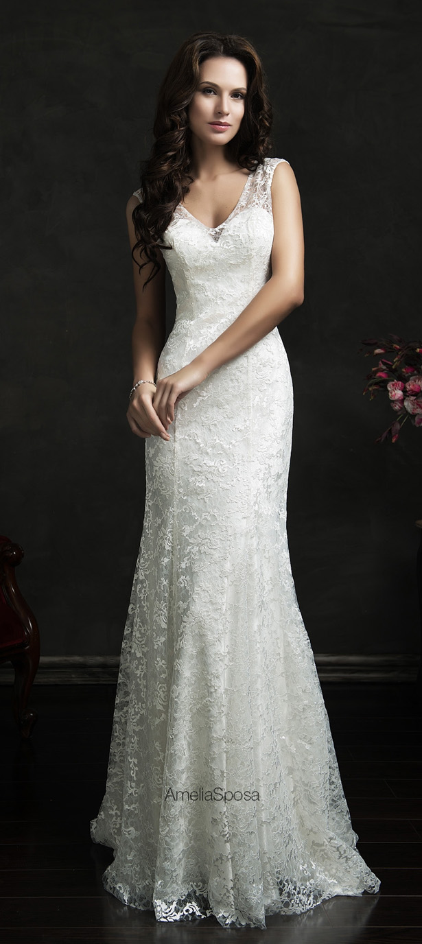 Picture Of stunning amelia sposa 2015 wedding dresses collection  24