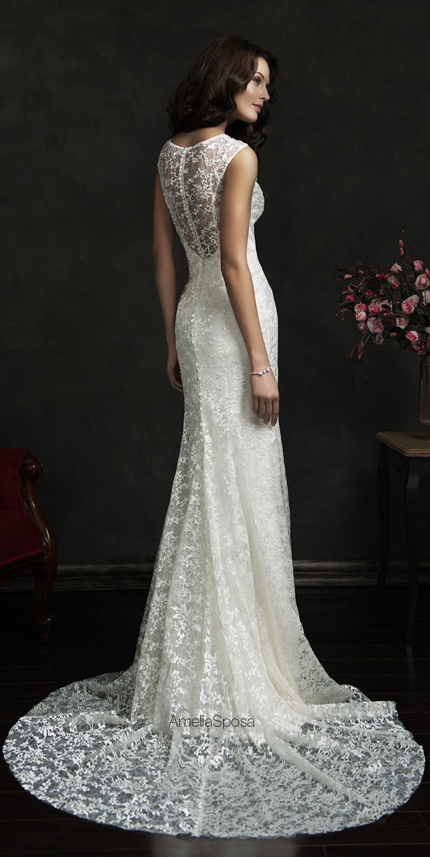 Picture Of stunning amelia sposa 2015 wedding dresses collection  25