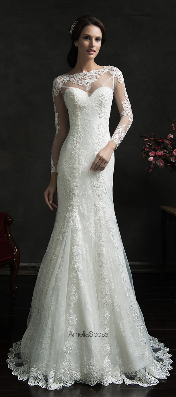 Picture Of stunning amelia sposa 2015 wedding dresses collection  3