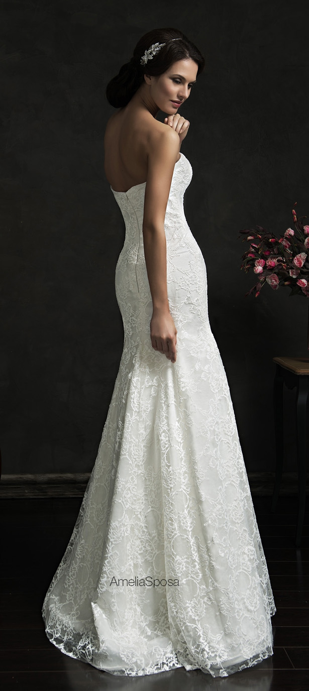 Picture Of stunning amelia sposa 2015 wedding dresses collection  4