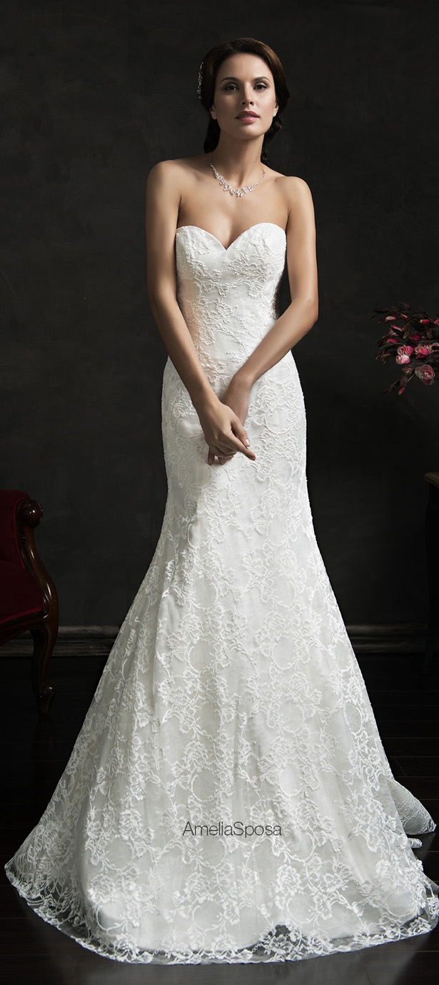 Picture Of stunning amelia sposa 2015 wedding dresses collection  5