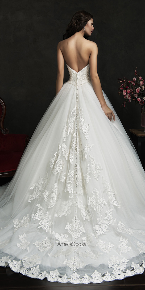 Picture Of stunning amelia sposa 2015 wedding dresses collection  7