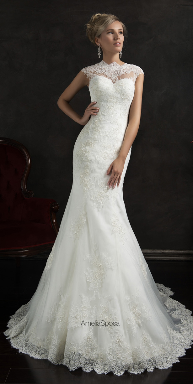 Picture Of stunning amelia sposa 2015 wedding dresses collection  8