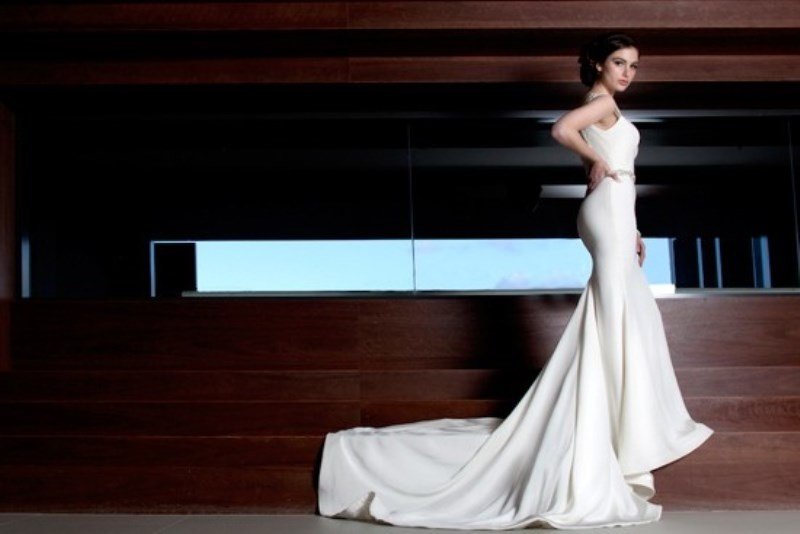 Picture Of stunning avant garde wedding dresses collection 2015 by rosalynn win  11