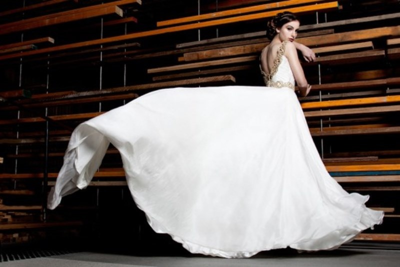 Picture Of stunning avant garde wedding dresses collection 2015 by ...