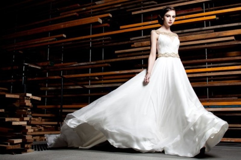Picture Of stunning avant garde wedding dresses collection 2015 by rosalynn win  13