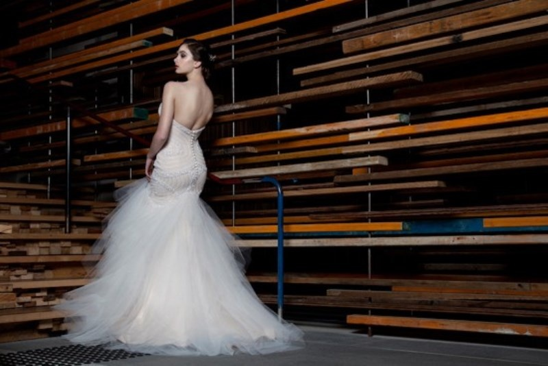 Picture Of stunning avant garde wedding dresses collection 2015 by rosalynn win  3