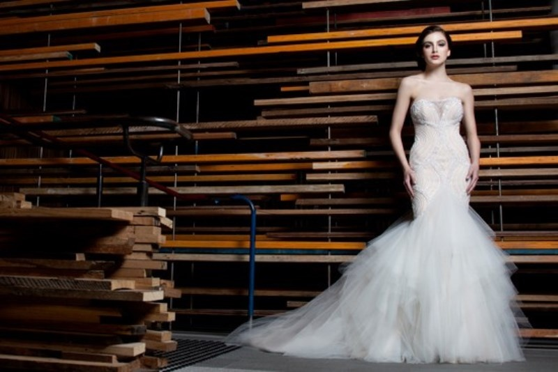 Picture Of stunning avant garde wedding dresses collection 2015 by rosalynn win  4
