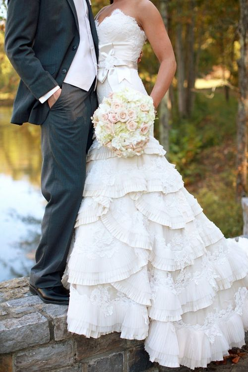 Stunning Barn Wedding Dresses