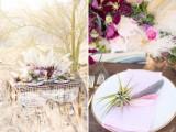 Stunning Edgy Bohemian Wedding Inspirational Shoot
