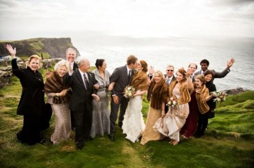Stunning Elopement On The Irish Moher Cliffs